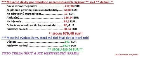 Porovnanie sociálnych (ne)výhod podľa