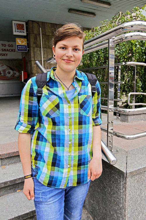 Aleba (23), bankárka, Bratislava