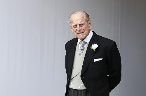 Britský princ Philip, manžel