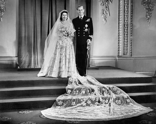 Svadba Alžbety a Philipa