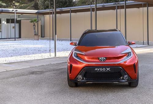 Nová Toyota Aygo X