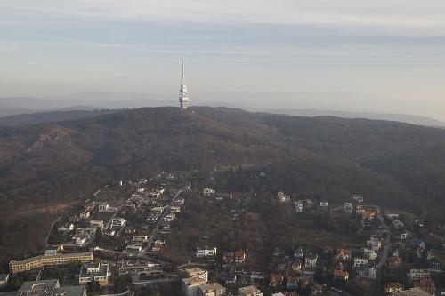 Pohľad na Televíznu vežu