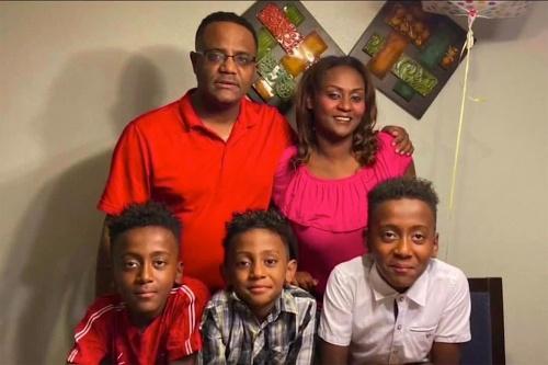 Jeho milujúca rodina sa