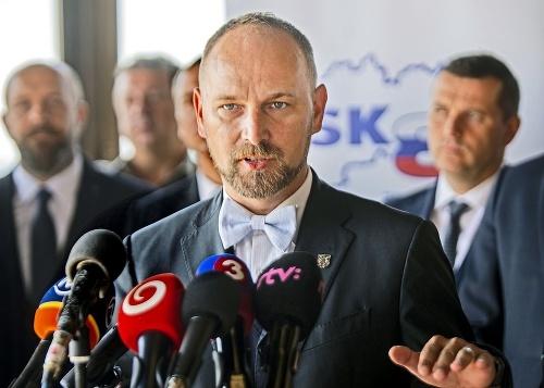 župan Jozef Viskupič