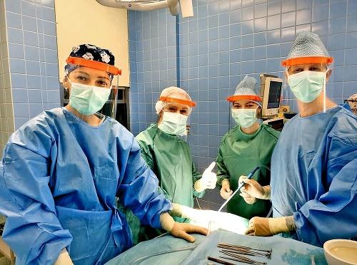 Ochranné štíty pre lekárov