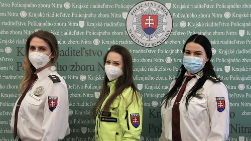 Počet policajtiek na Slovensku