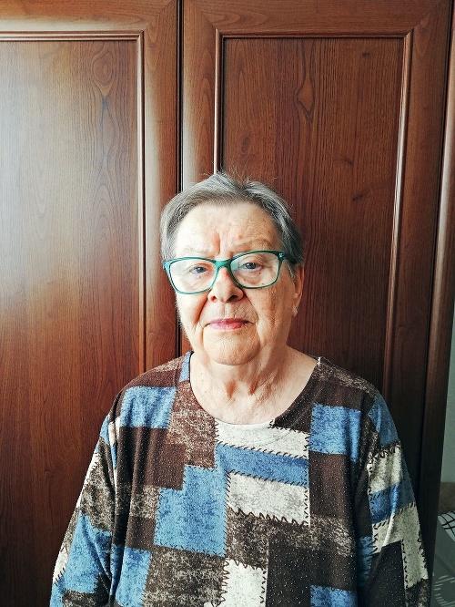 Alžbeta Pašková (74), dôchodkyňa,