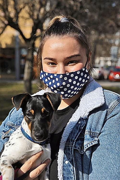 Kristína Valová (21), vychovávateľka,