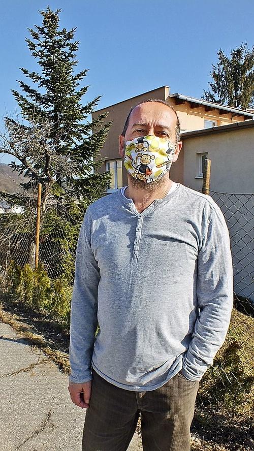 Stanislav Mráz (54), školník,