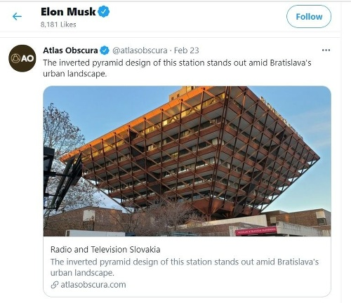 Elon Musk označil, že