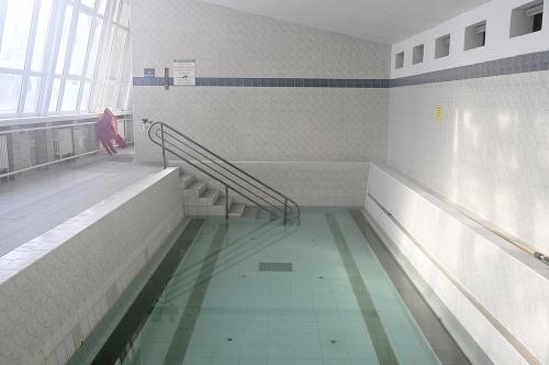 Vnútorný bazén na termálnom