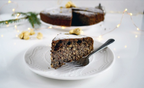 Šťavnatý makový koláč s
