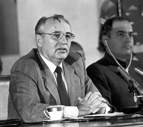 Stroj prepravoval aj Gorbačova.