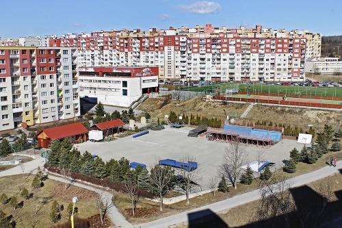 Známy skatepark sa nachádza