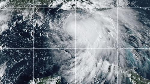 Tropická búrka Sally by