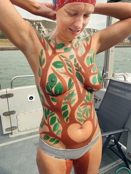Ingrid plávala kanálom La