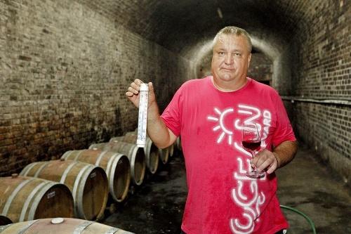 Vo vínnej pivnici