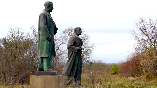 Megasochy Gottwalda a Lenina.