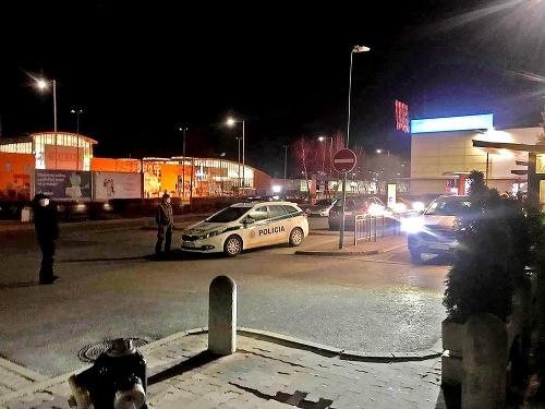Na parkovisku policajti nachytali