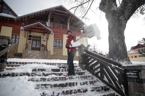 Na zimnú a snehovú