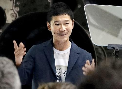 miliardár Y. Maezawa