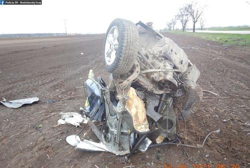Pri nehode utrpel 27-ročný