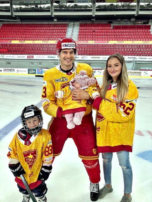 Hokejistu Braňa Rehuša podporuje