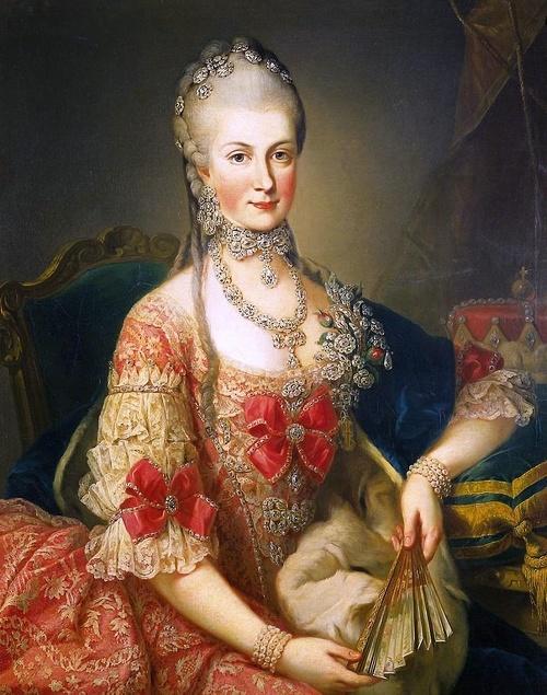 Dcéra kráľovnej Márie Terézie,