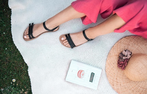 Sandále Summer black
