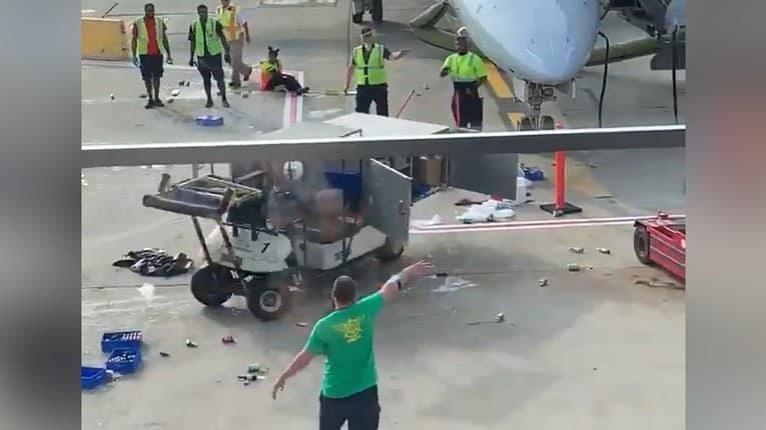 Zásobovacie vozidlo sa ako splašené točilo v kruhu: Pohotový zásah zamestnanca letiska