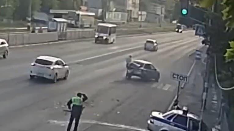 Nevydarená policajná naháňačka v Uljanovsku: Neuveríte, čo policajti prehliadli!