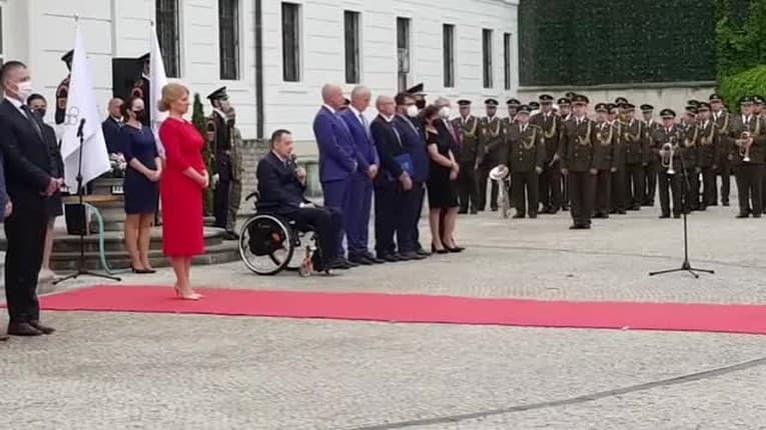 Zuzana Čaputová slávnostne odprevadila slovenskú výpravu do Tokia: Olympionici zložili sľub prezidentke!