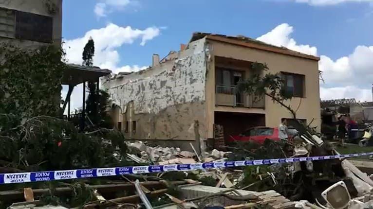 Tornádo v Lužiciach: Iba tri minúty stačili na to, aby sa ich domy stali neobývateľnými