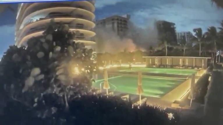 Zábery skazy: Takto sa v Miami zrútila 12-poschodová obytná budova