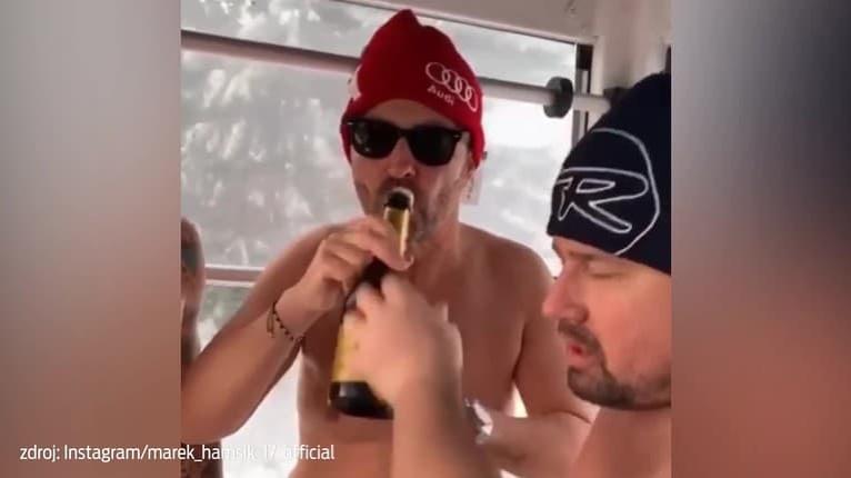 Hamšík takmer nahý na Donovaloch: V jednej ruke víno a potom... Neuveríte!