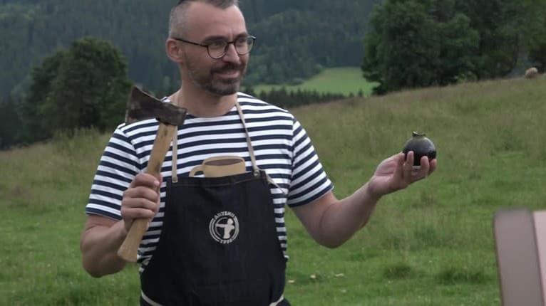Marcel (44) zapísal slovenský rekord: Sabráž sekerkou na Gerlachu!