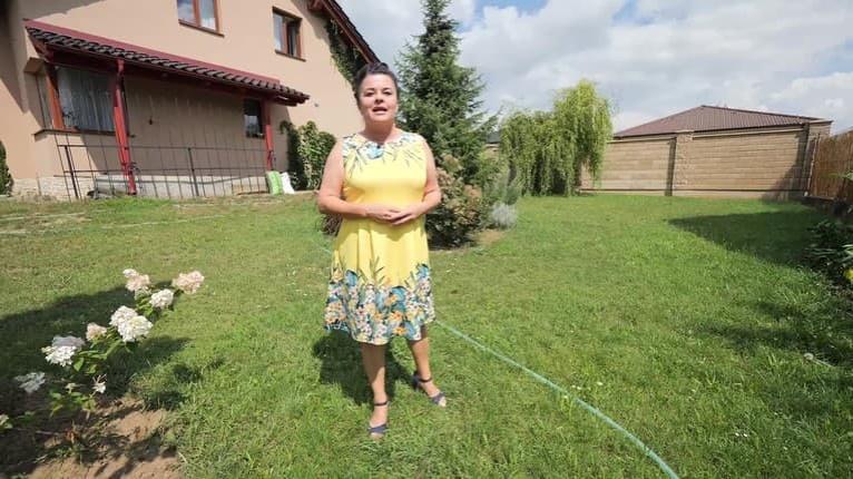 Speváčka Jadranka ukázala vysnívanú záhradu: Takýto skvost v nej ukrýva