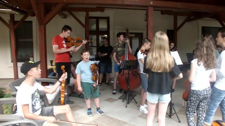 Vychádzajúce hviezdy sa stretli na Gemeri: Muzikantský tábor spojil talenty