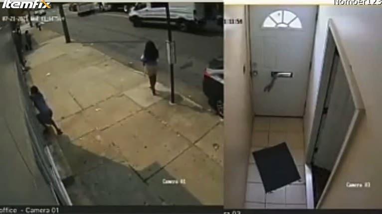 Zlodej sa chcel dostať do domu, ale majiteľ ho odhalil: Dostal to, čo si zaslúžil!