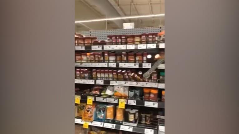 Šok v austrálskom supermarkete: Žena počas nákupu objavila 3-metrového pytóna