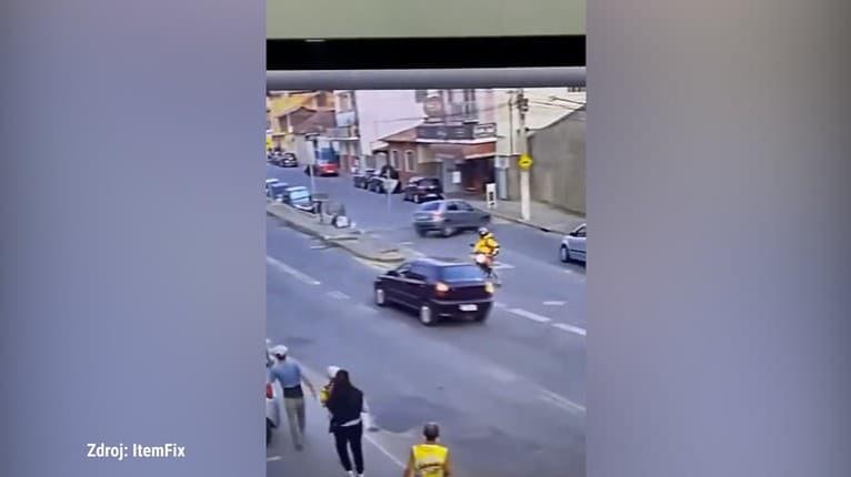 Manéver, ktorý nemáte šancu pochopiť: Ako mohol napáliť autom rovno do steny?