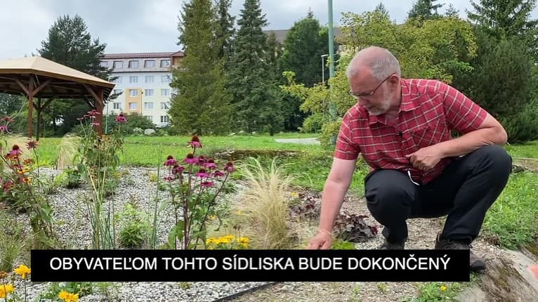 Dobré fondy EÚ: V Tatranskej Štrbe zrekonštruovali vnútroblok sídliska. Nové chodníky a zeleň pribudli vďaka eurofondom