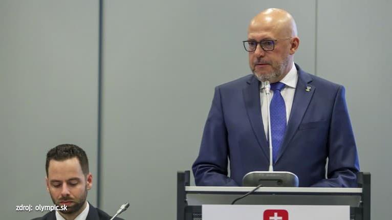 Delegáti na valnom zhromaždení hlasovali o vedení SOŠV do roku 2024: Siekel ostáva šéfom olympionikov